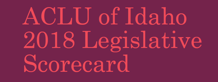 Legislative Scorecard Image