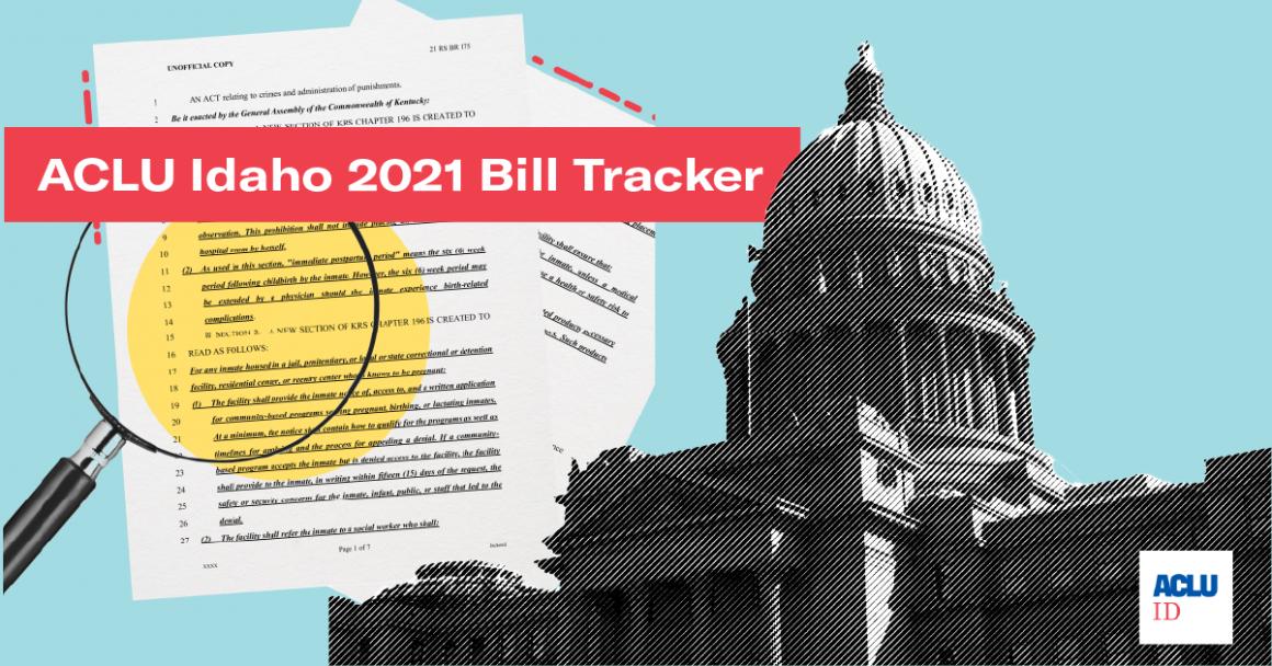 Idaho Legislature Bill Tracker