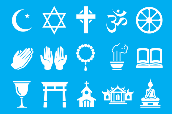 symbols for various religions