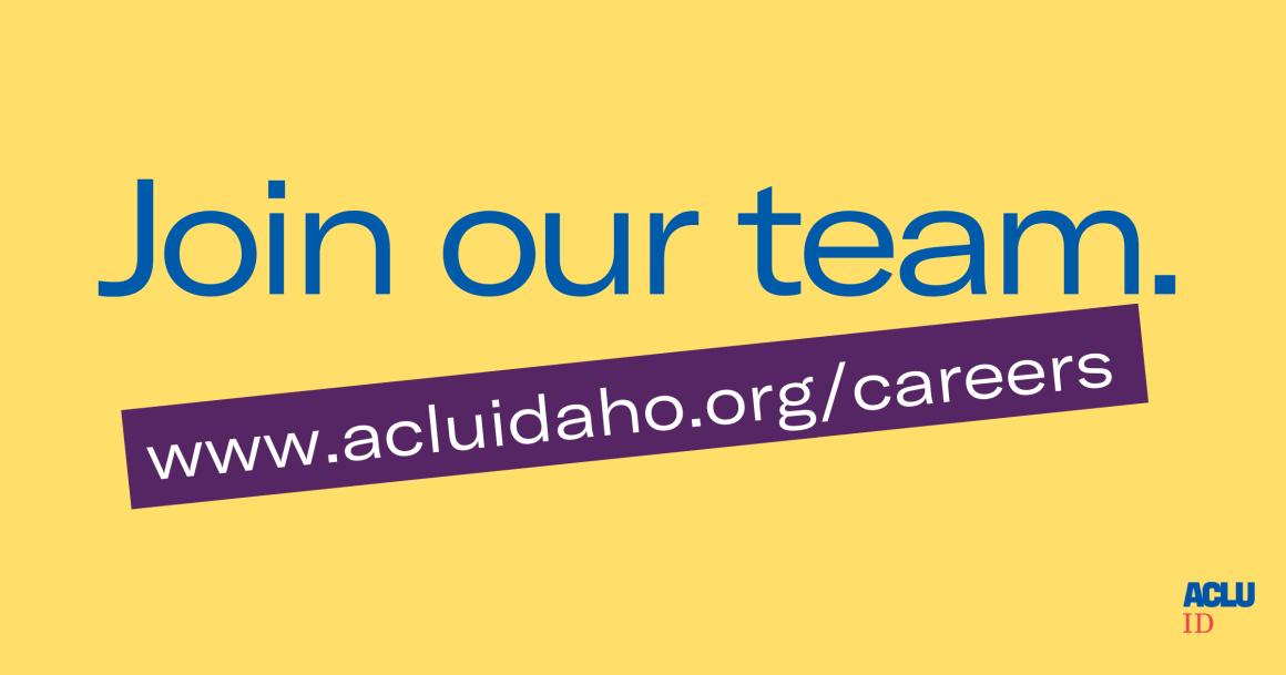 ACLU Idaho Careers