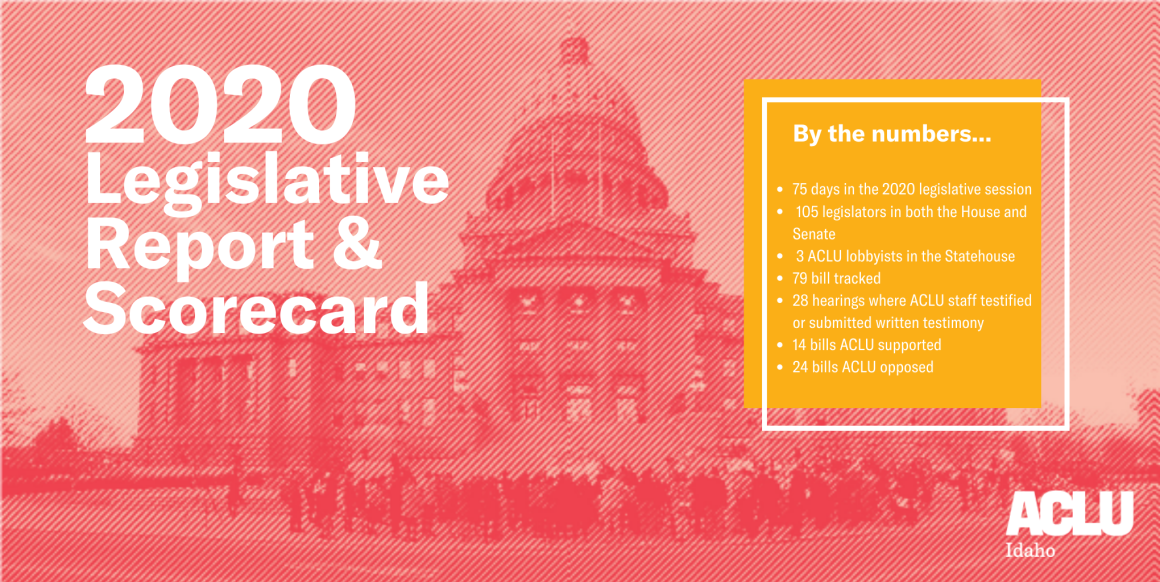 2020 Idaho Legislative Report