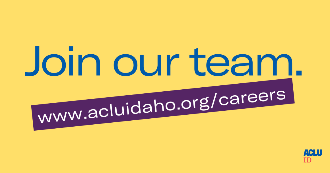 ACLU Idaho Intake Specialist