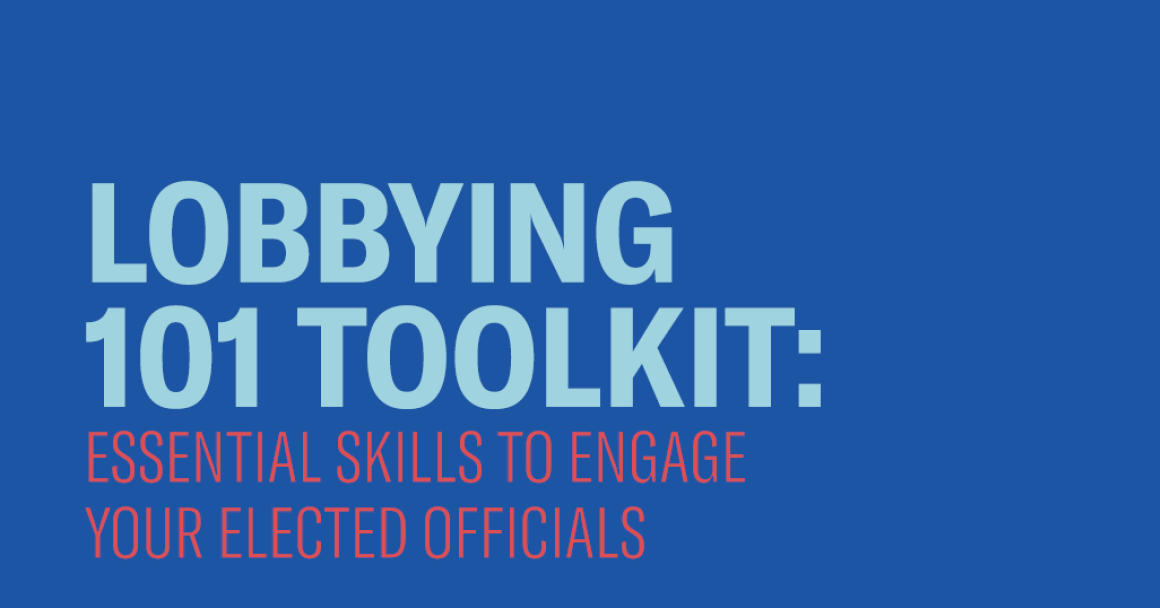 Lobbying 101 Toolkit