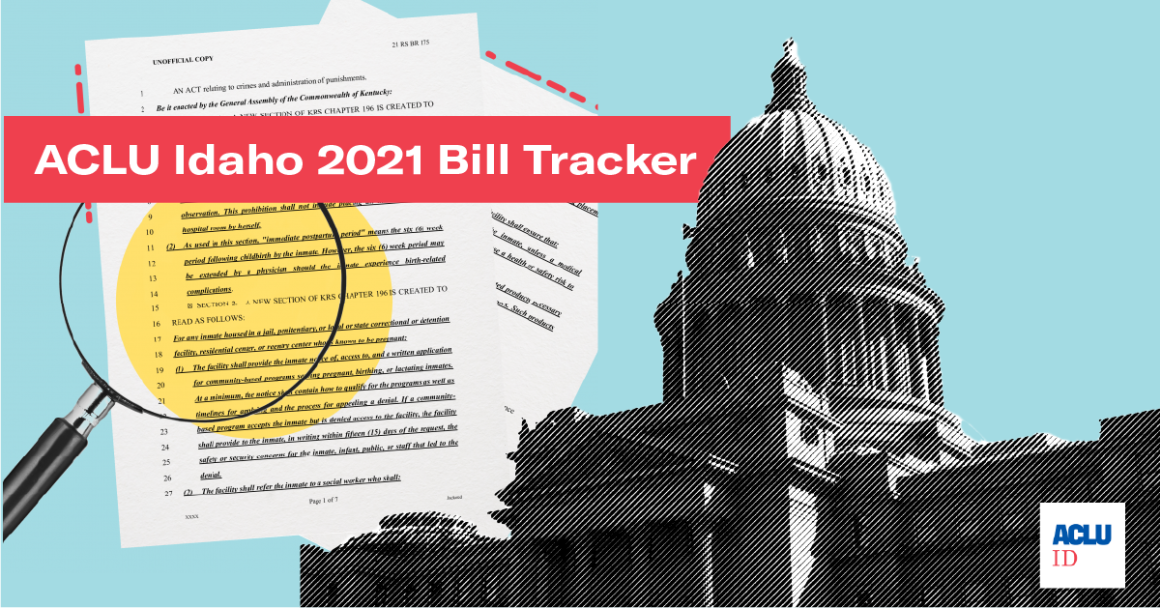 Idaho Legislature Bill Tracker