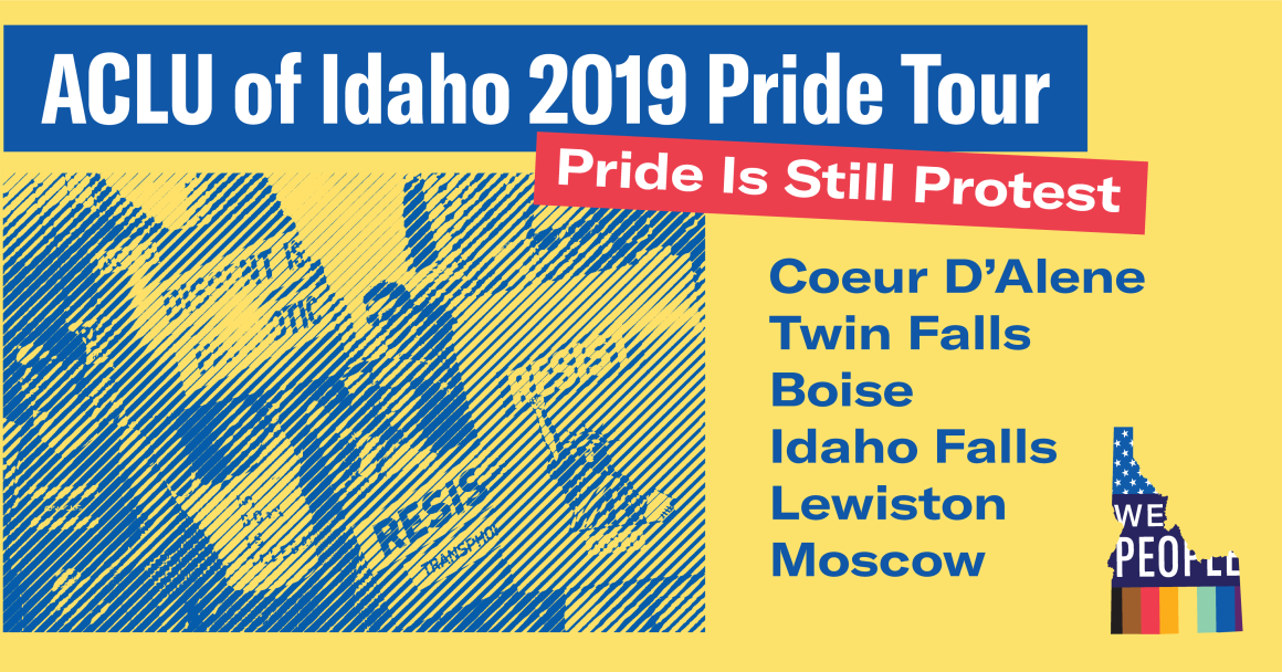 ACLU Idaho 2019 Pride Tour