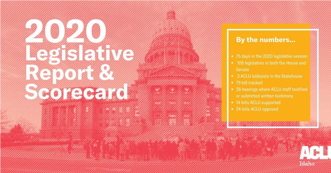 2020 Idaho Legislative Report